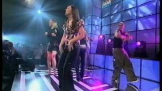 Atomic Kitten - The Tide Is High - live