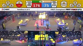 Semifinal 4 - 2018 FIRST Championship - Houston - Turing Subdivision