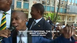 Prophet Mboro Declares Long Life on Prophet Shepherd Bushiri