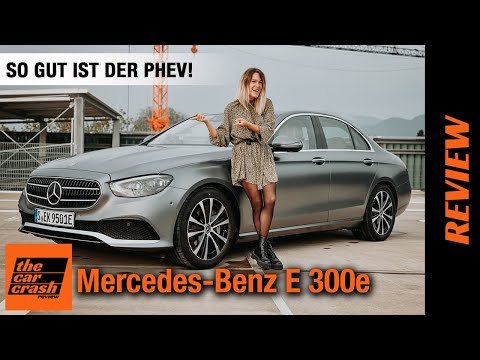 Mercedes E 300 e (2021) So gut ist der E-Klasse Plug-in Hybrid! Fahrbericht   Review   Test   Preis