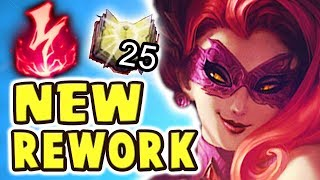 Gambar cover NEW DOMINATION EVELYNN REWORK | BEST JUNGLER EVER | THE TANGO | THE DAMAGE IS UNREAL - Nightblue3