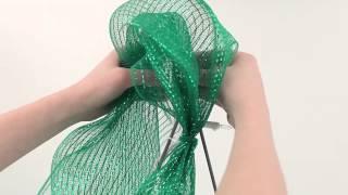 How To Make A Deco Mesh Christmas Tree