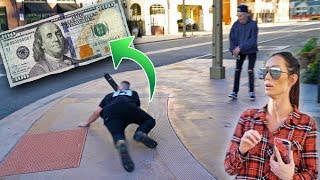OFFERING PEOPLE $100 TO LAND SCOOTER TRICKS!
