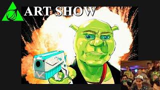 Shrekfest Online 2021 | Art Show