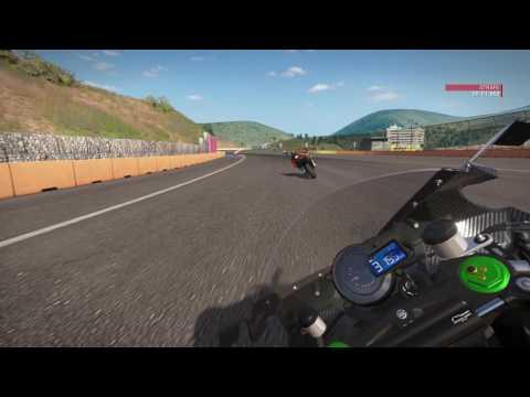 Ride 2 PS4 Gameplay Kawasaki H2R Amazing Race + Crash