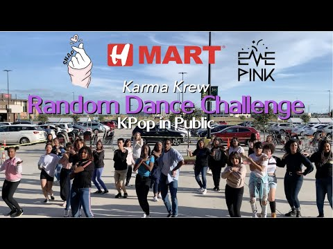 [KPOP IN PUBLIC CHALLENGE] Random Dance Challenge HMart Event Day 2 Part 2 2019 || Karma Krew