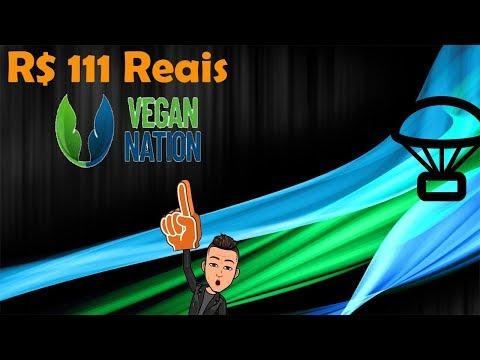 Ganhe fácil R$111 reais no Airdrop da VeganNation !