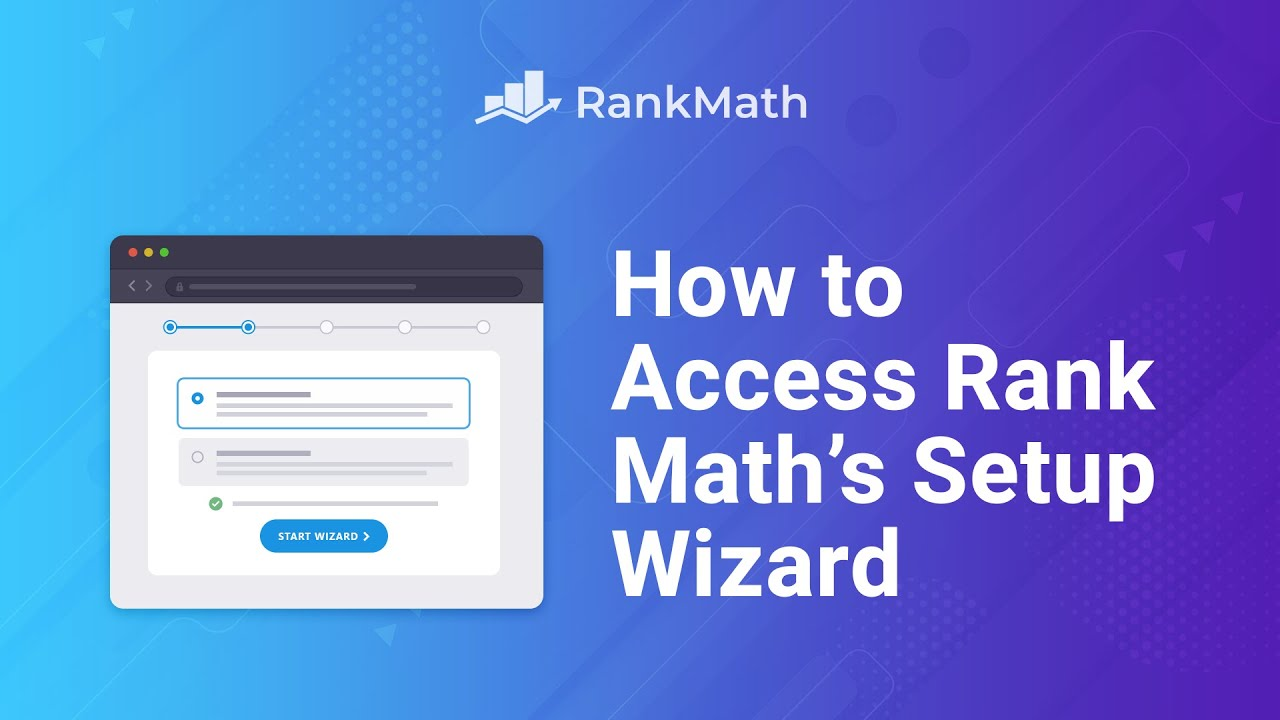 How to Access Rank Math's Setup Wizard? Rank Math SEO