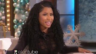 Nicki Minaj Imitates Kim Kardashian on ELLEN- Watch!