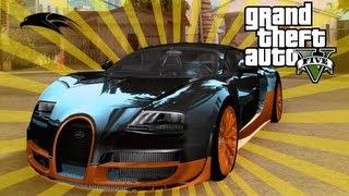 GTA V - Bugatti Veyron Secret Location - How To Get Bugatti Veyron GTA 5 Tutorial