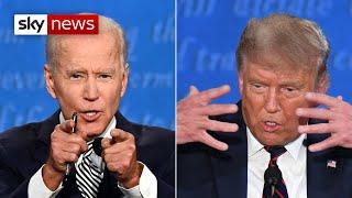 Watch In Full: Trump versus Biden in the first US Presidential election debate