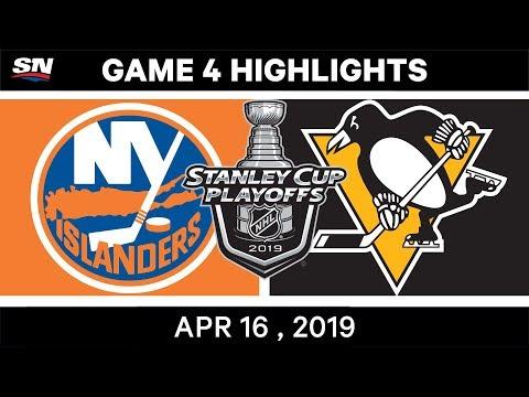NHL Highlights   Islanders vs Penguins, Game 4 – April 16, 2019
