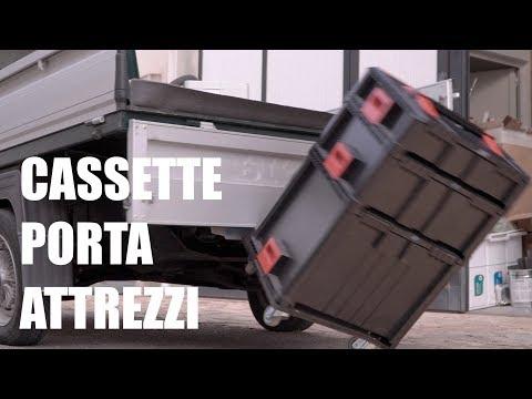 CASSETTE PER ATTREZZI IMPILABILI - Sistema Box On Box di Smarty
