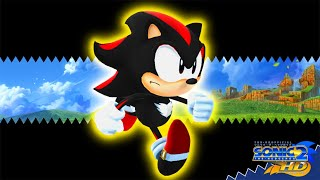Sonic 2 HD - Shadow Gameplay [Early Look]
