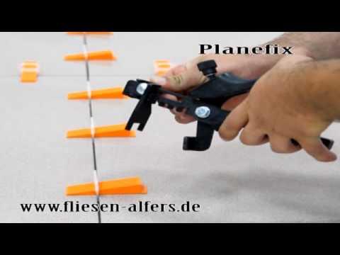 Planfix RLS System Fliesen Nivelliersystem Original Fliesen Verlegen