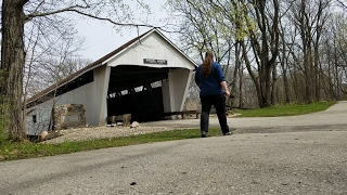 Why Did They Build All These Covered Bridges In The US? | Potters Bridge Park Noblesville, Indiana