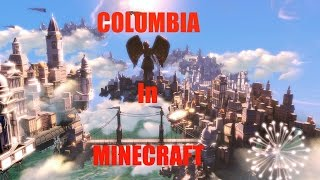 Bioshock Infinite Columbia in Minecraft!