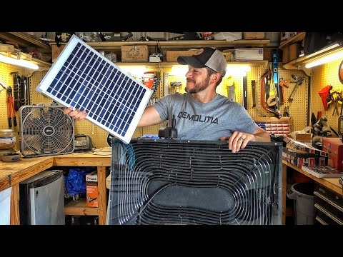 Homemade Solar Powered Water Heater