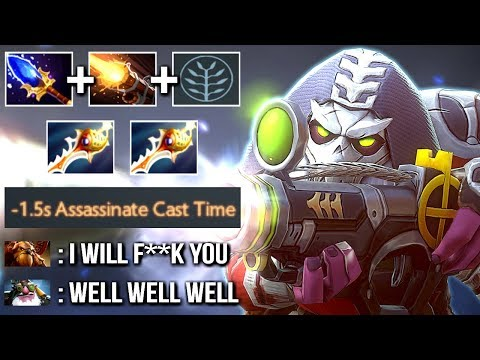 Nuclear Sniper 2 Rapiers and Scepter Instant Assassinate by Matumbaman Epic Gameplay Dota 2
