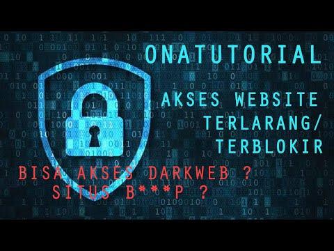 OnaTutorial ~ Cara Mengakses SItus Web yg Terblokir/Dilarang ataupun Tidak bisa dibuka , Darkweb