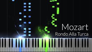 "Alla Turca ""Turkish March"" (Sonata No.11, 3) - Wolfgang Amadeus Mozart [Piano Tutorial] (Synthesia)"