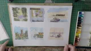 How I Paint Watercolour Greetings Cards To Sell