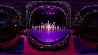 360 Video: New Finale of the 2018 Christmas Spectacular Starring the Radio City Rockettes