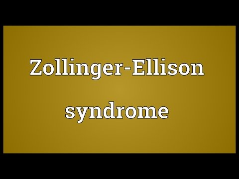 Video Zollinger-Ellison syndrome Meaning