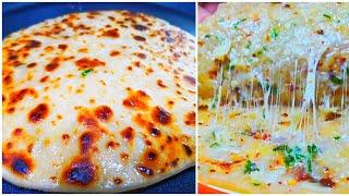 जाने सारे टिप्स और ट्रिक्स फूला हुआ और करारा  चीज़ पराठा बनाने के  | Cheese Paratha recipe in hindi
