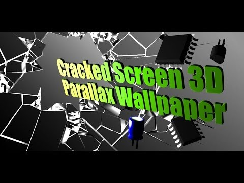 Vidéo Cracked Screen Gyro 3D PRO Parallax Wallpaper HD