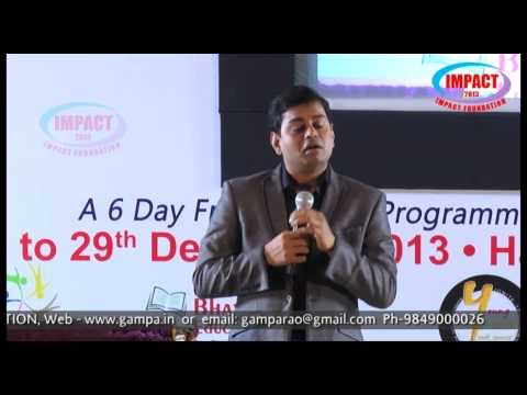 Why Failing|Pavan Kumar|TELUGU IMPACT Hyd Dec 2013