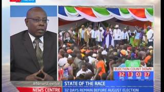 State of the race :  Campaigns reaches home stretch as NASA ans Jubilee