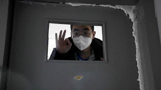 CMG reporter visits infected medical staff in Wuhan