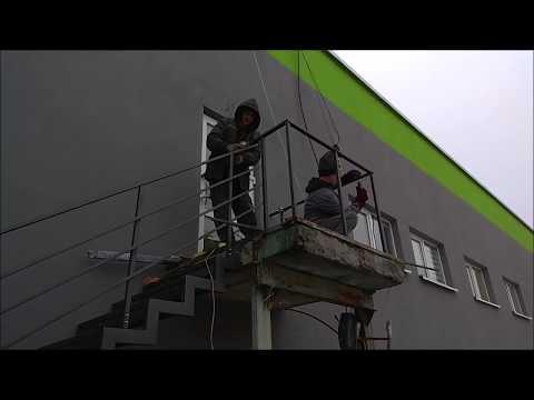 Наружная металлическая лестница Пожарная лестница