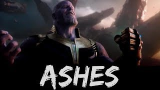 The Avengers - Ashes by Celine Dion (Infinity War HD version)