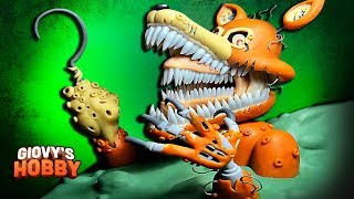 TWISTED FOXY ➤ FNAF: THE TWISTED ONES ★ Polymer clay Tutorial ✔ Giovy Hobby