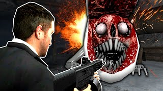 BRIDGE WORM MUST BE STOPPED! - Garry's Mod Gameplay