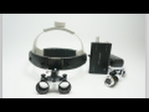 TR-L03 Dental Loupe Surgical Medical Binocular Loupes with Cap design - Treedental