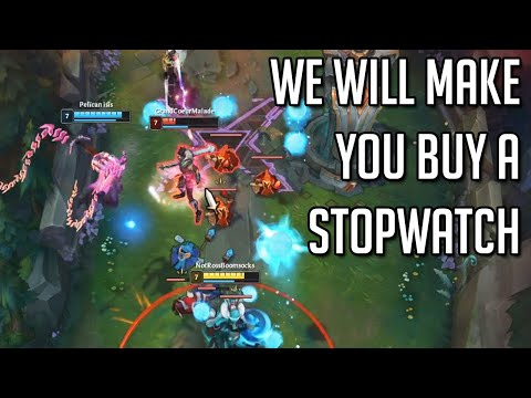League of Legends but our entire team will make you buy a Stopwatch...