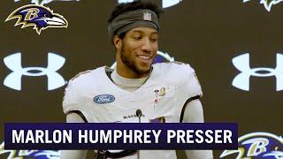 Marlon Humphrey: A Lot of Trash Talk at Ravens Practice | Baltimore Ravens