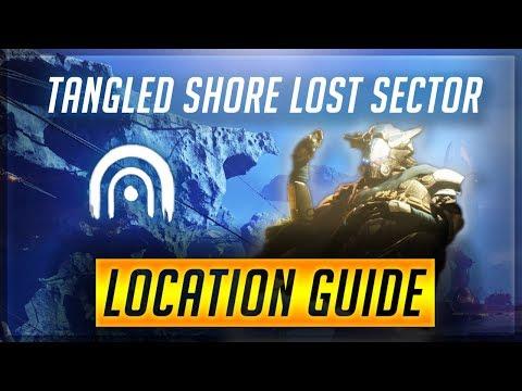 Destiny 2: Forsaken | All 5 Lost Sector Locations!! - Tangled Shore