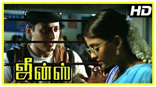 Jeans Movie Scenes | Nassar switches place with his twin