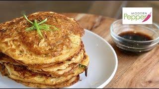 Savory & High In Protein Mung Bean Patties/Pancakes: BinDaeTteok 빈대떡  (Vegetarian/Paleo Friendly