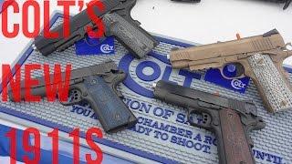 SHOT Show 2016: Colt's Four 'New' 1911 Pistols