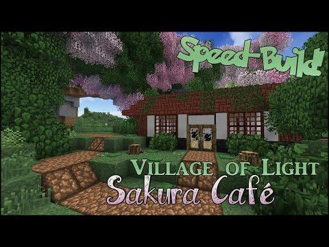 Sakura Café & Cherry Blossom Archway Speed-Build!!