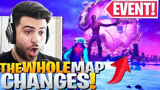 TRAVIS SCOTT EVENT CHANGES THE WHOLE MAP! (CRAZY FORTNITE CONCERT REACTION!) ft Ninja, Courage, Lupo