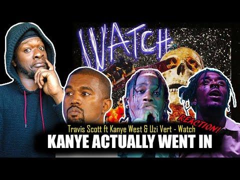 Travis Scott - Watch (Audio) ft. Kanye West, Lil Uzi Vert (REACTION!)
