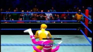 Queen of the Mountain Round 1 Match 9 Pink Ranger vs Yelllow Ranger