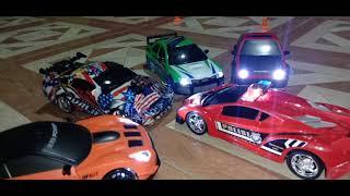 HB Toys 1/24 RC drift cars. Race Drift FPV action. WRX. GT-R. AE86