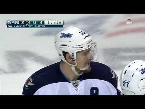 Scheifele makes Jones regret trying to score